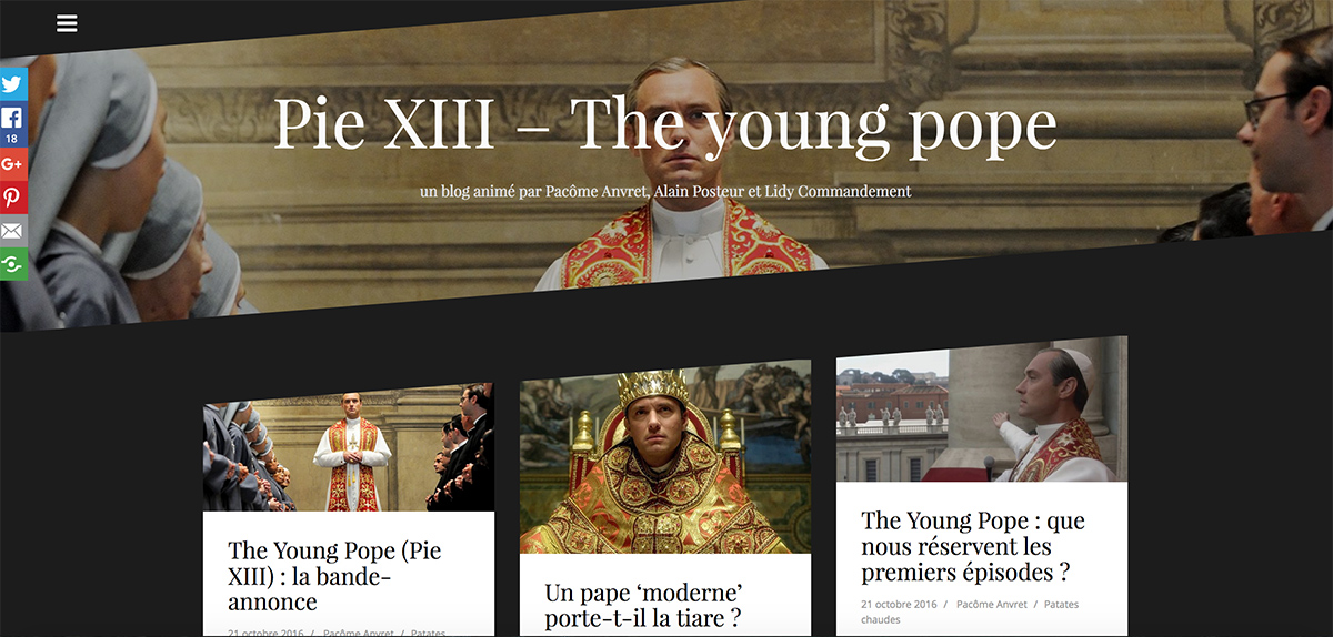 The Young Pope - Pie XIII