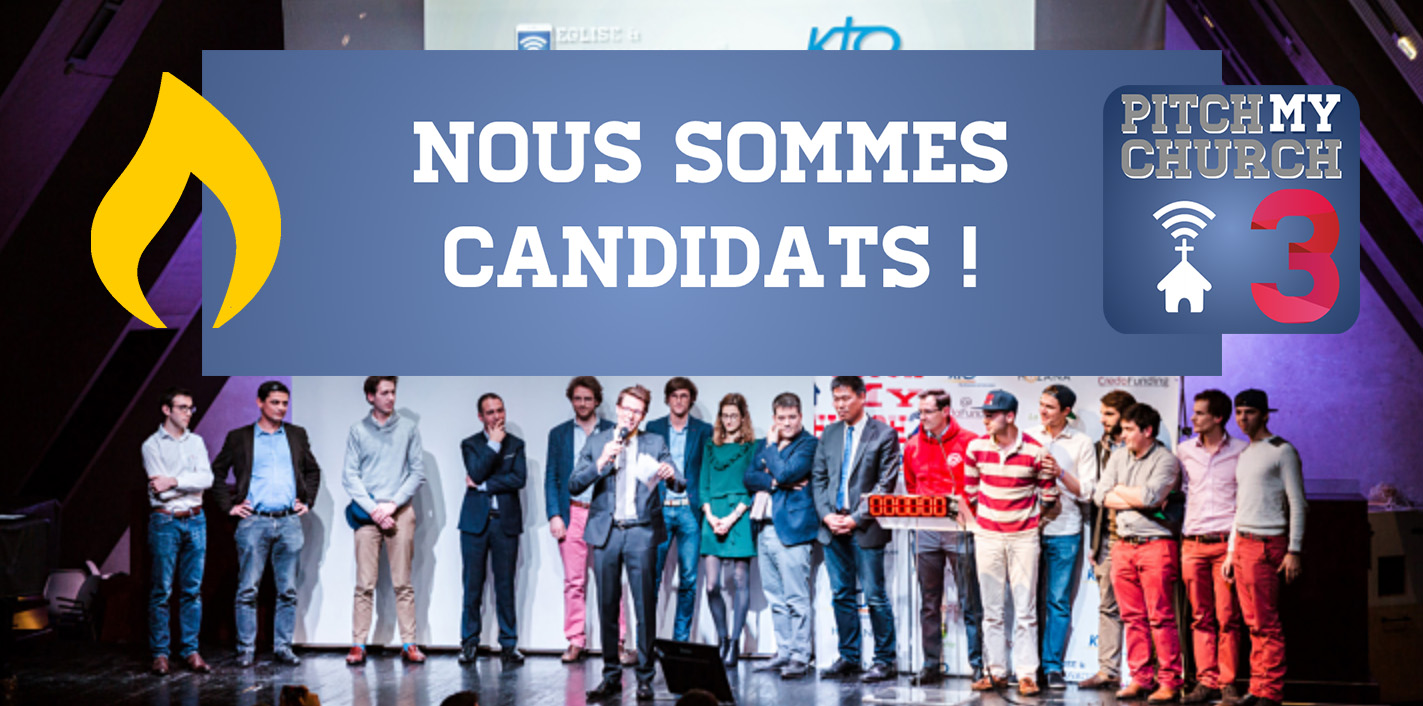 Nous sommes candidats à Pitch my church 3 ! - Lights in the dark -  évangéliser Internet